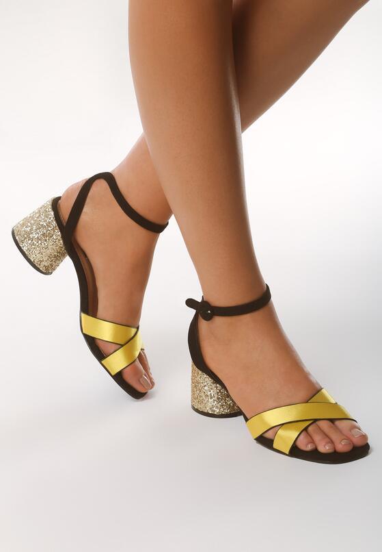 Żółte Sandały Incontestable