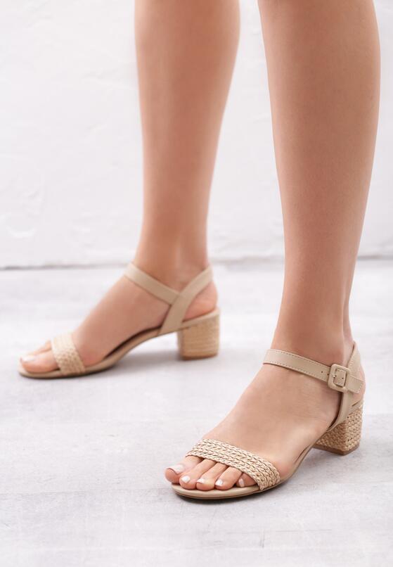 Beżowe Sandały Full Of Promise