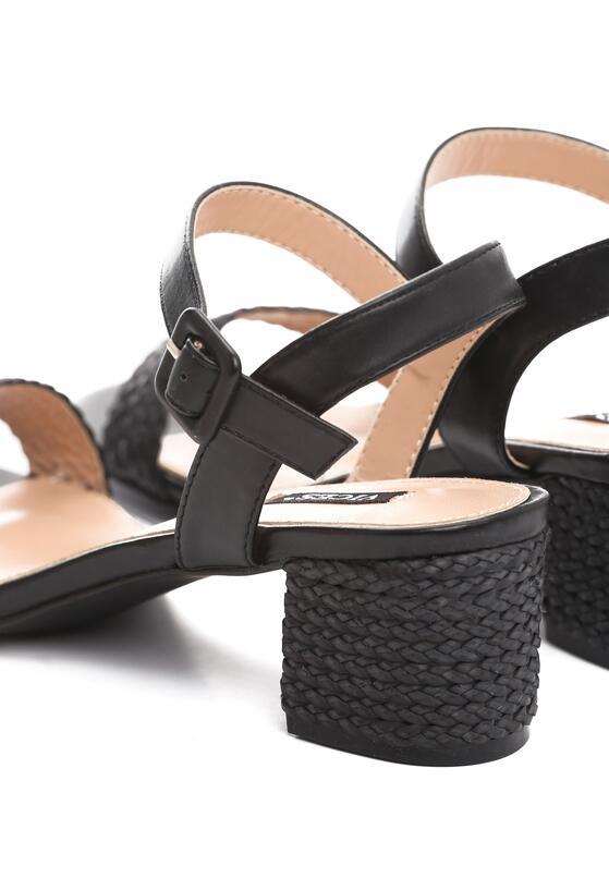 Czarne Sandały Full Of Promise
