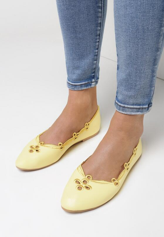 Żółte Balerinki Idealism