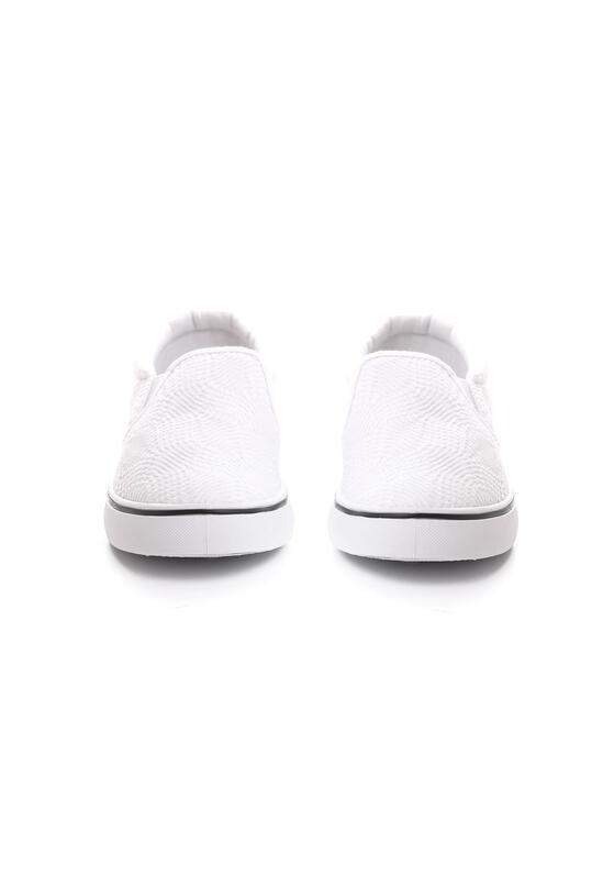 Białe Slip On Farsighted