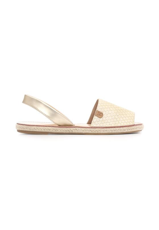 Beżowe Espadryle Luxuries