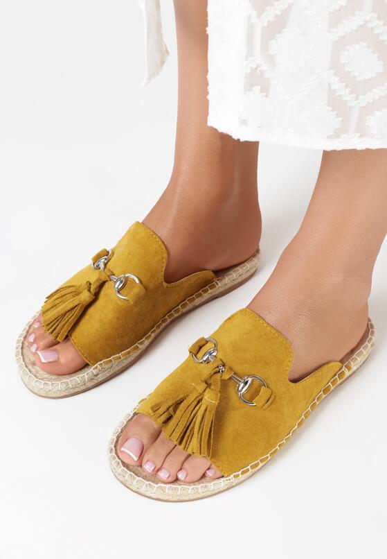 Żółte Klapki Merengue