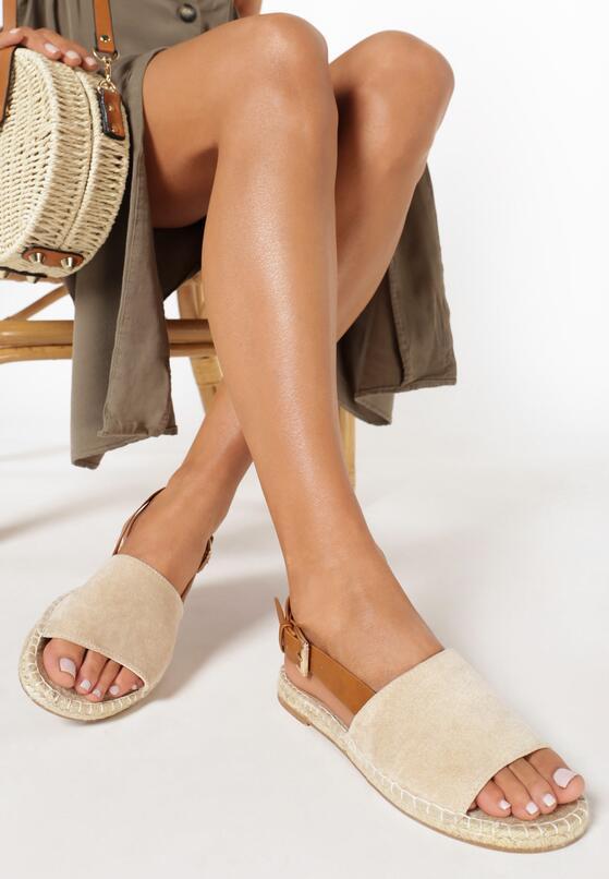 Beżowe Sandały Womanliness