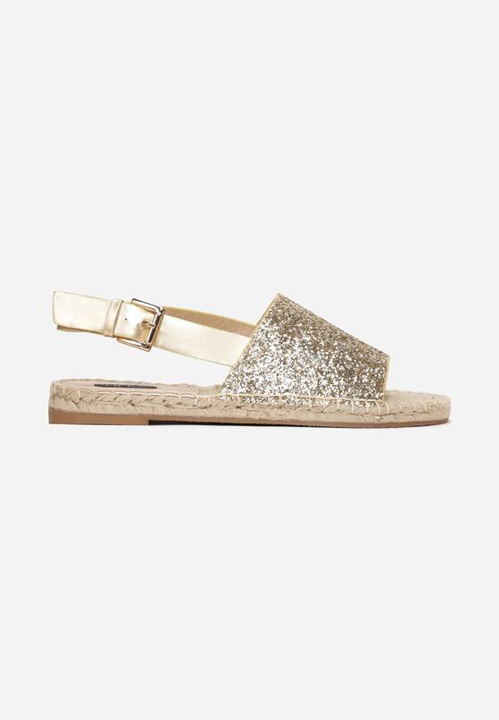 Złote Sandały Coquetry