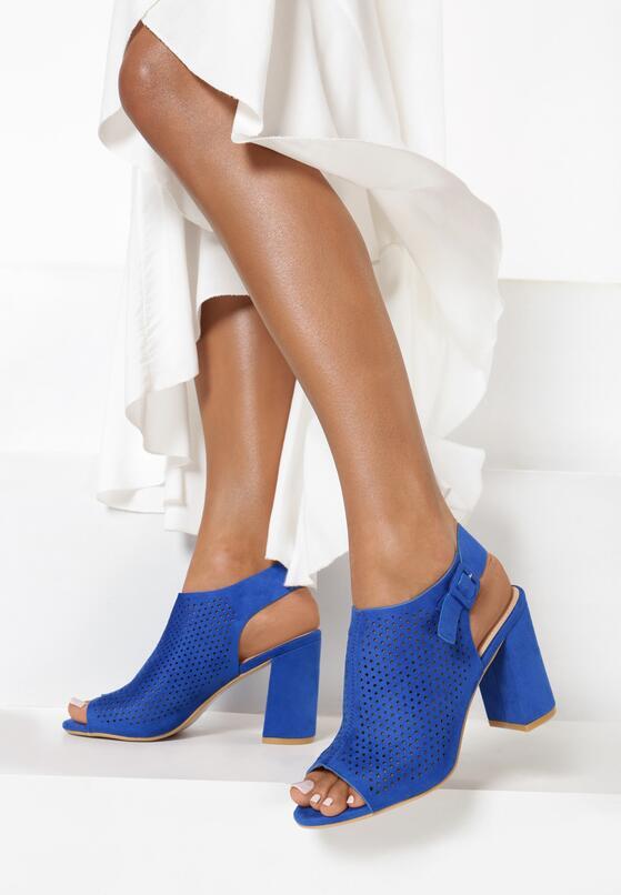 Kobaltowe Sandały Aetheriko