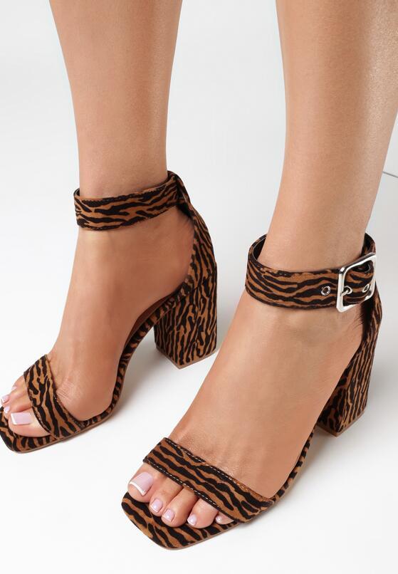 Brązowe Sandały Haiphaia