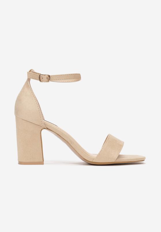 Beżowe Sandały Acalethea