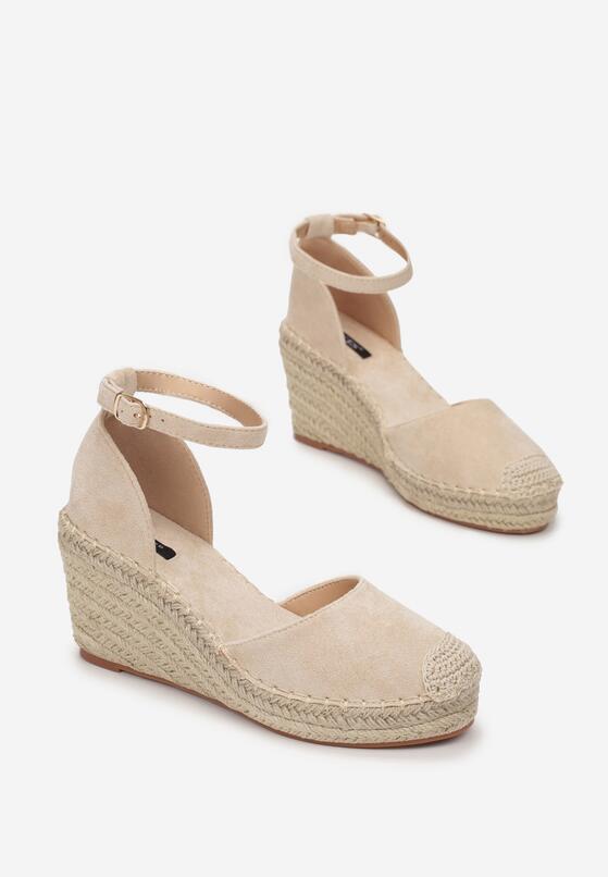 Beżowe Sandały Eireneh