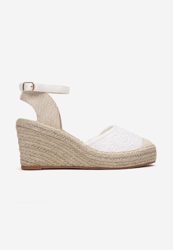 Białe Sandały Synarope