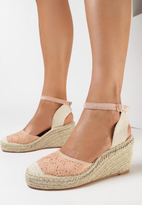 Różowe Sandały Synarope