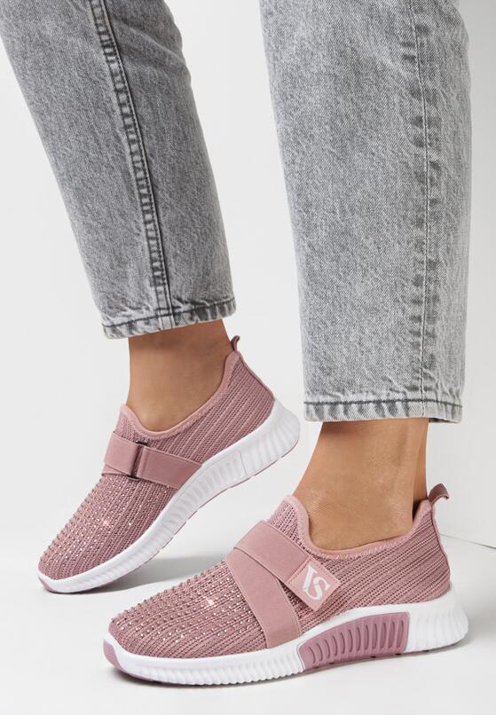 Różowe Buty Sportowe Finemond