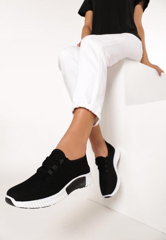 Czarne Buty Sportowe Nautiney