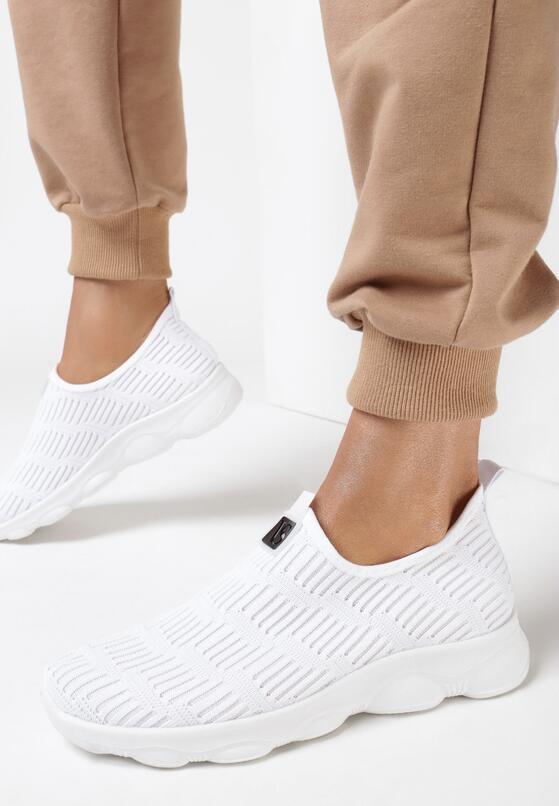 Białe Buty Sportowe Amarissa