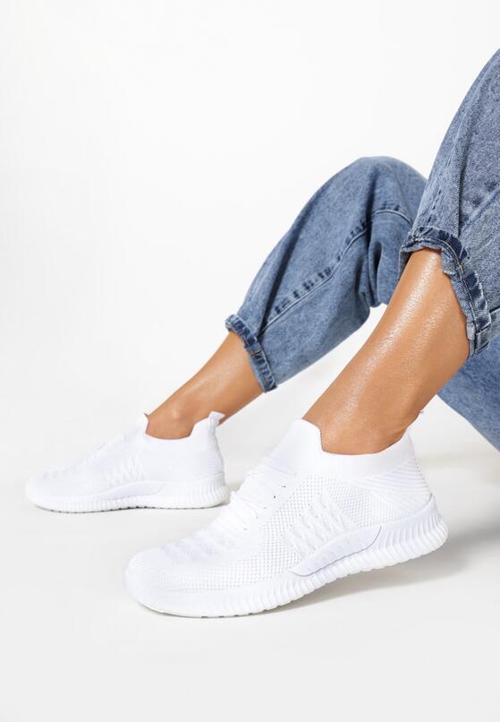 Białe Buty Sportowe Adrearene