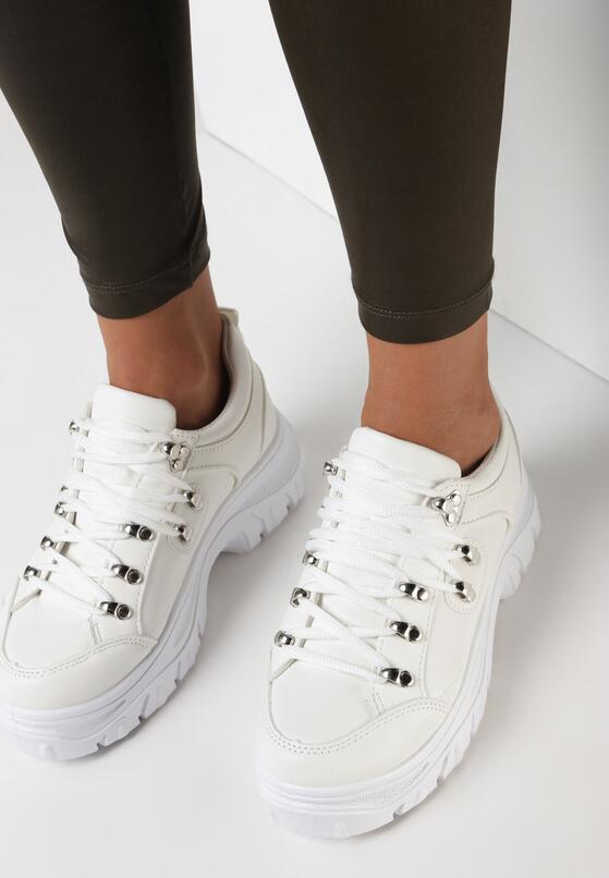 Białe Sneakersy Calyreisis