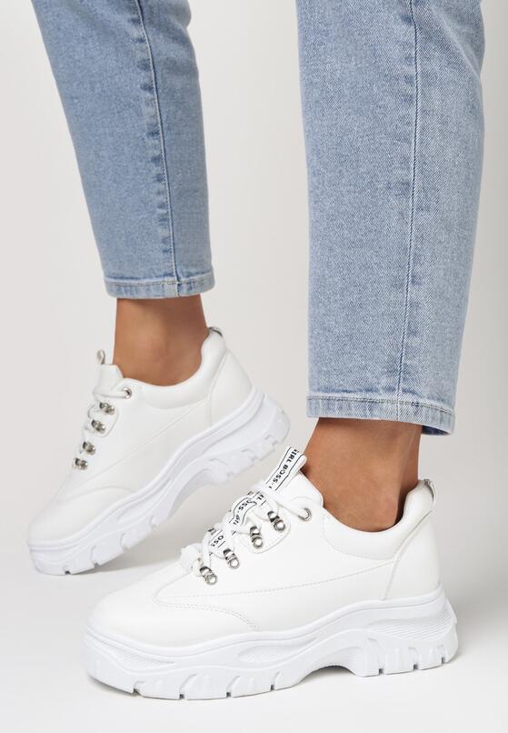 Białe Sneakersy Merellien