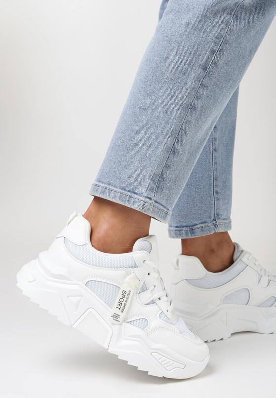 Białe Sneakersy Radiancy