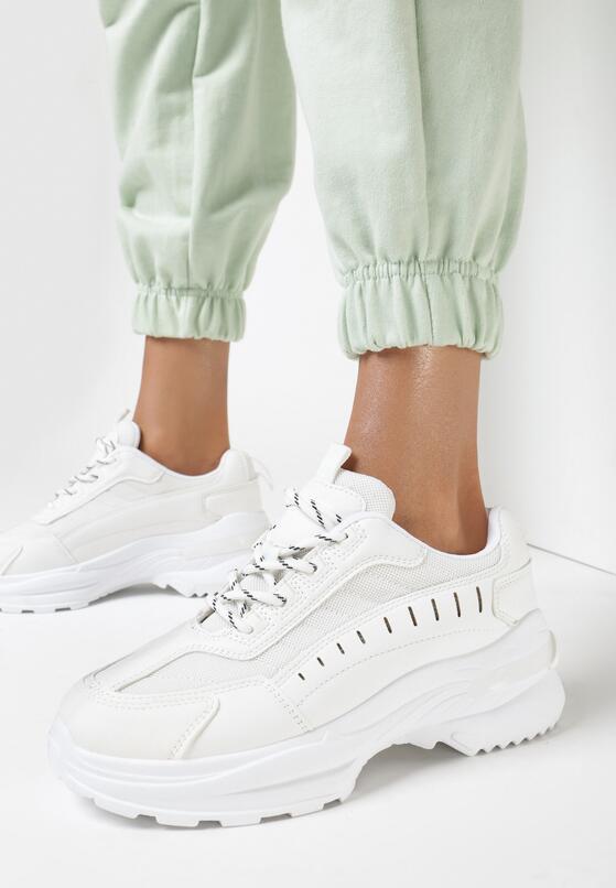 Białe Sneakersy Castymes