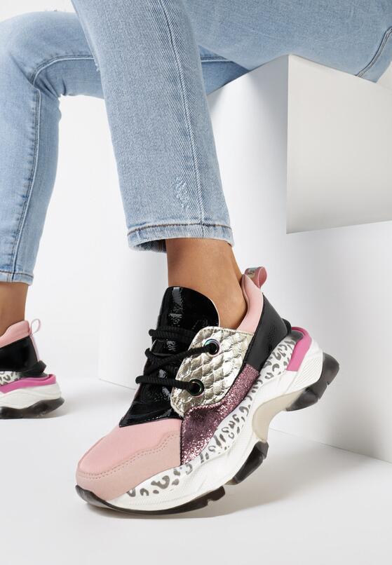 Różowe Sneakersy Prosis