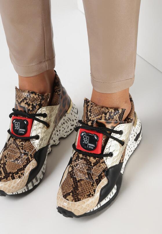 Brązowe Sneakersy Livesey