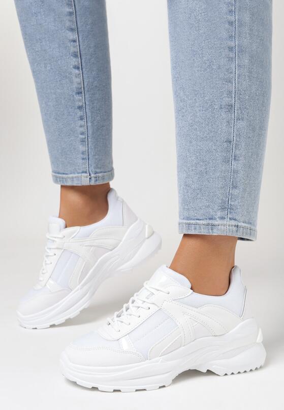 Białe Sneakersy Molmellia