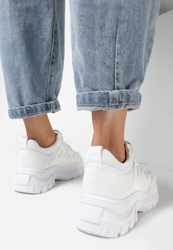 Białe Sneakersy Foggyvine