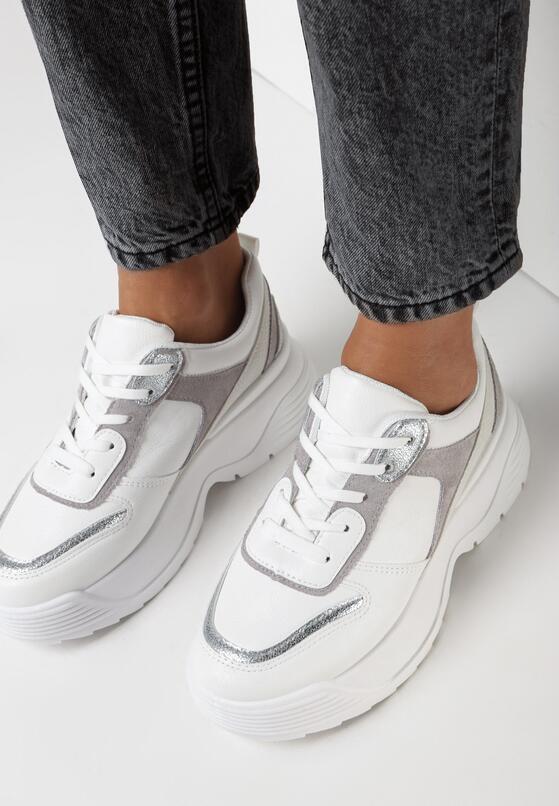 Białe Sneakersy Birdbush