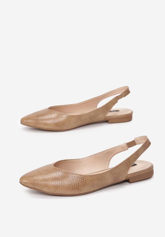 Beżowe Sandały Adrewai