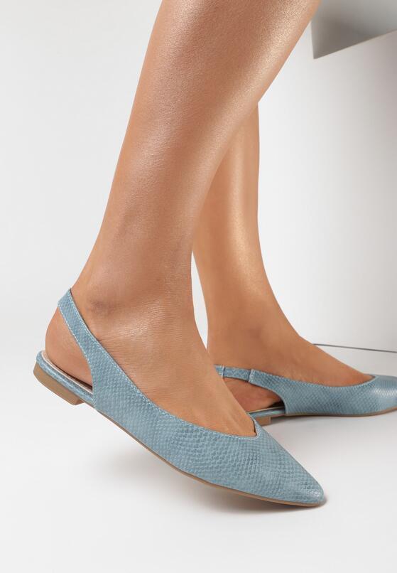 Niebieskie Sandały Adrewai