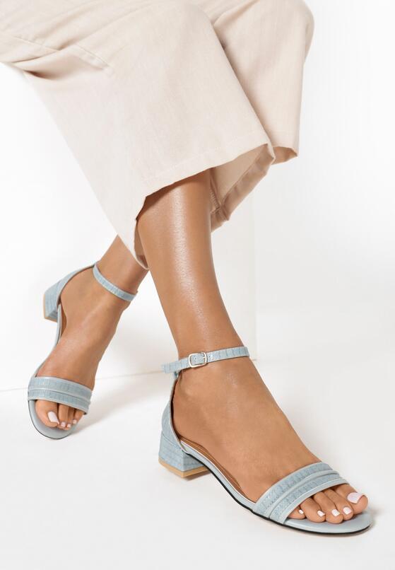 Błękitne Sandały Chamine