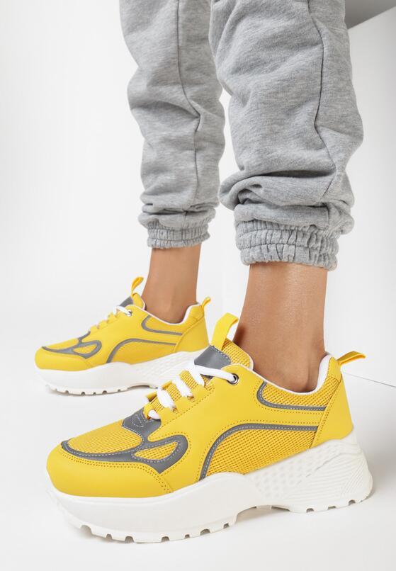 Żółte Sneakersy Wildcall