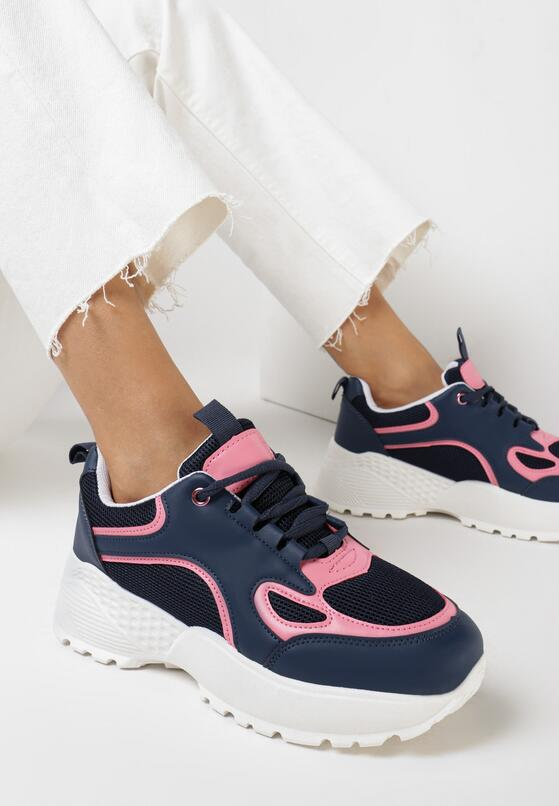 Granatowe Sneakersy Wildcall