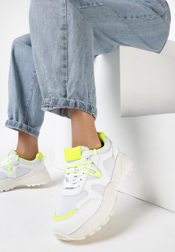 Białe Sneakersy Acalenia