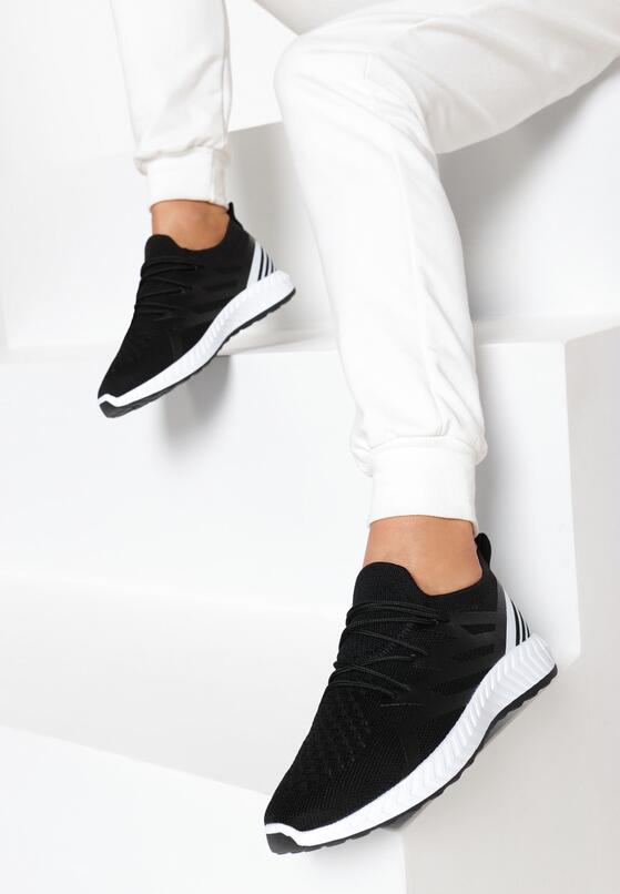 Czarne Buty Sportowe Acapeia