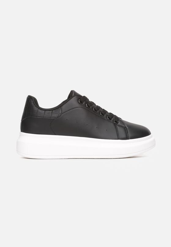 Czarno-Białe Sneakersy Hypnotic