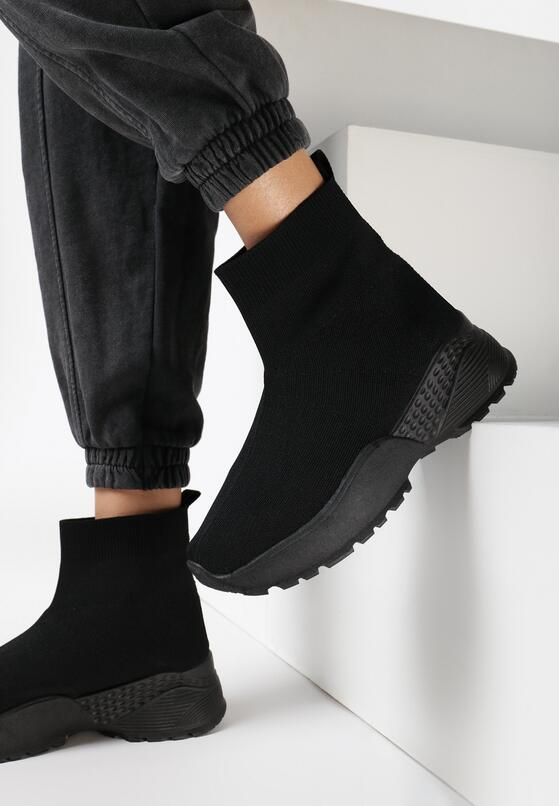 Czarne Sneakersy Dunning