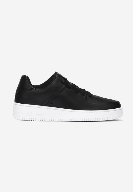 Czarno-Białe Buty Sportowe Greenbend