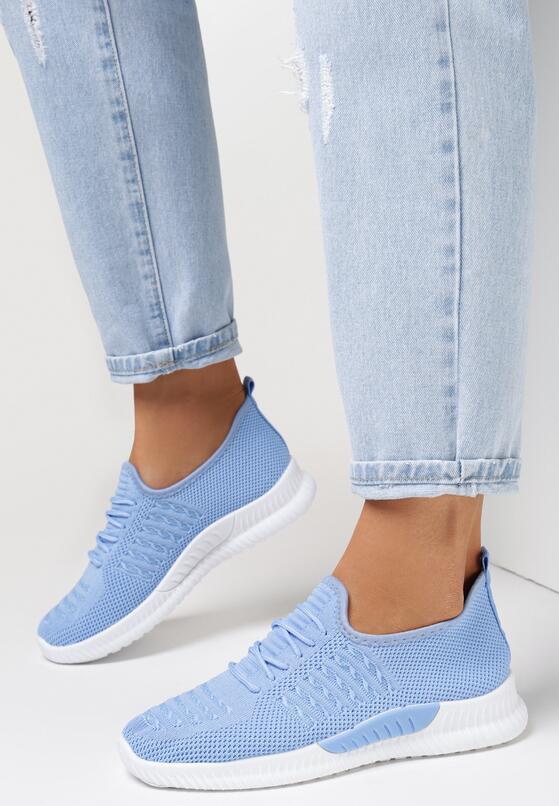 Niebieskie Buty Sportowe Bretheis