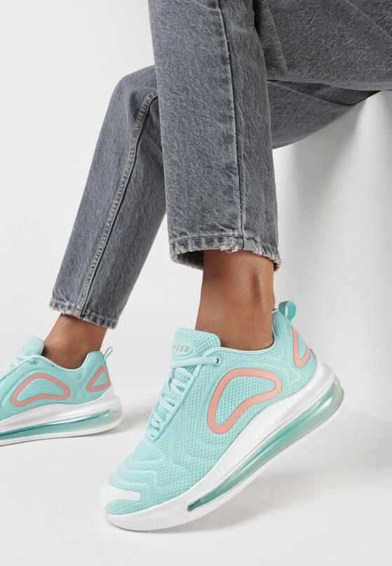 Jasnoniebieskie Sneakersy Laodoe