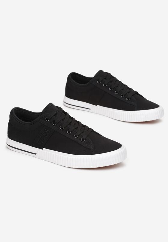 Czarne Buty Sportowe Corraney