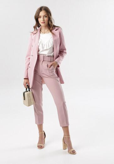 Różowe Spodnie Graceful
