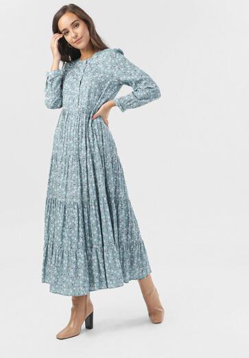 Jasnoniebieska Sukienka Farrington