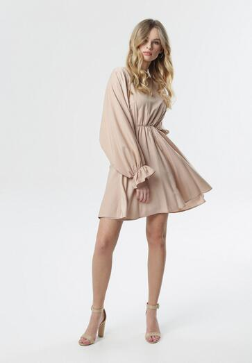 Jasnoróżowa Sukienka Sistine