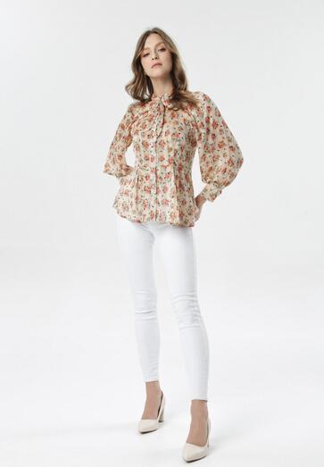 Jasnobeżowa Koszula Corderoe