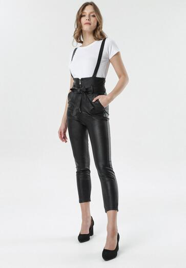 Czarne Spodnie Larinophe