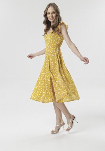 Żółta Sukienka Aeciane