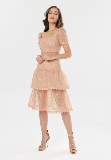Łososiowa Sukienka Limothilei