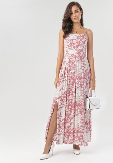 Różowa Sukienka Astedoe
