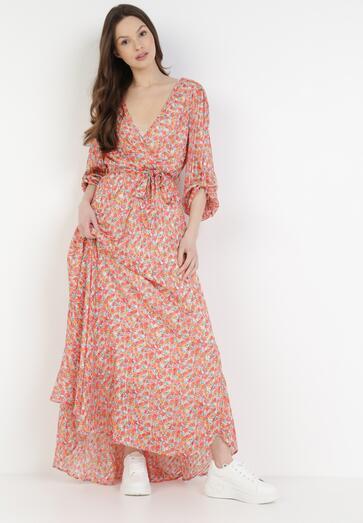 Łososiowa Sukienka Nymvienne